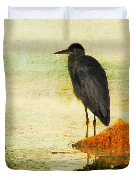 The Lonely Hunter Duvet Cover by Amy Tyler