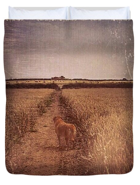 The Long Path Duvet Cover