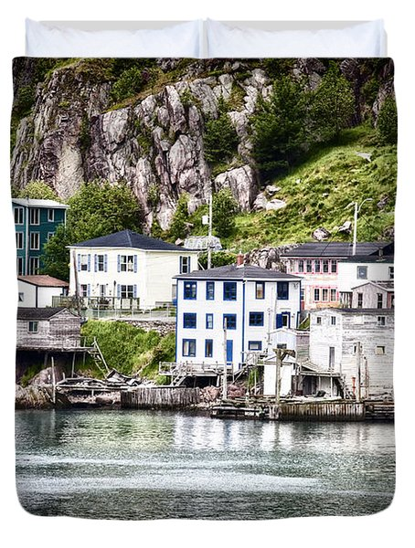Duvet Cover featuring the photograph The Lower Battery by Verena Matthew