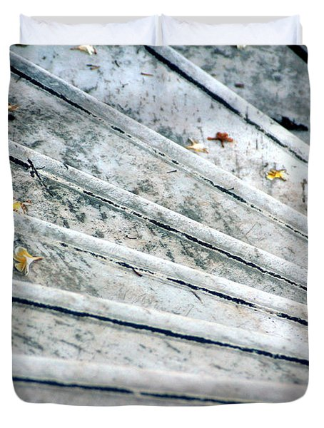 The Marble Steps Of Life Duvet Cover