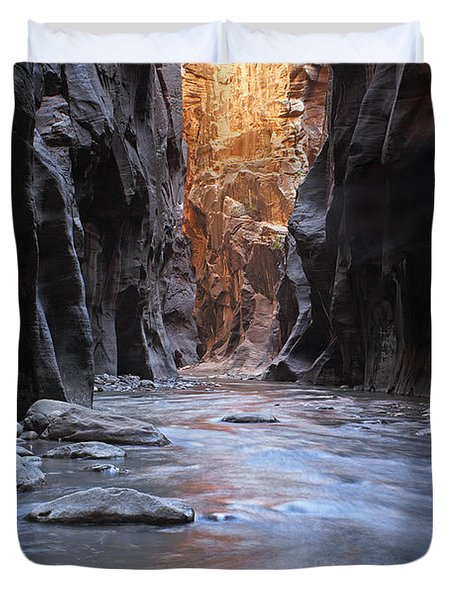 The Narrows Duvet Cover