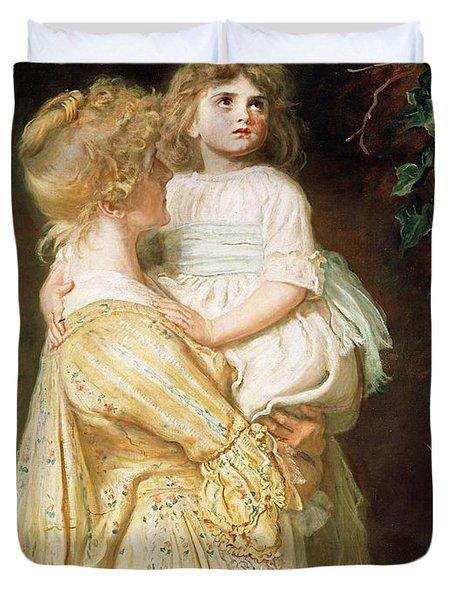 The Nest Duvet Cover by Sir John Everett Millais