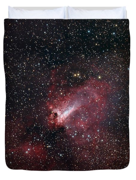 The Omega Nebula Duvet Cover by Filipe Alves