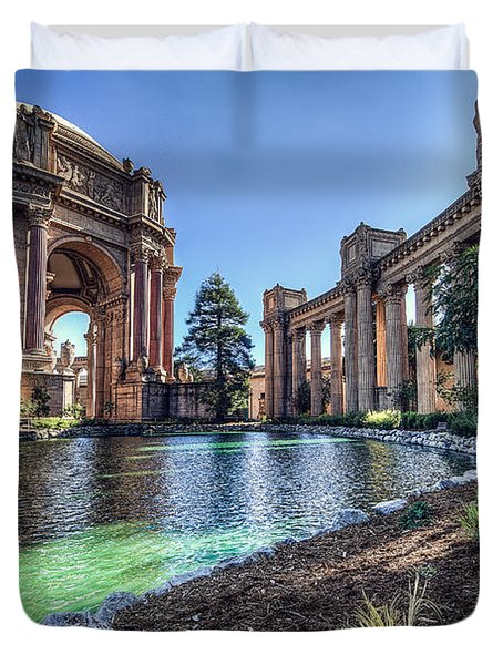 The Palace Of Fine Arts Duvet Cover by Everet Regal