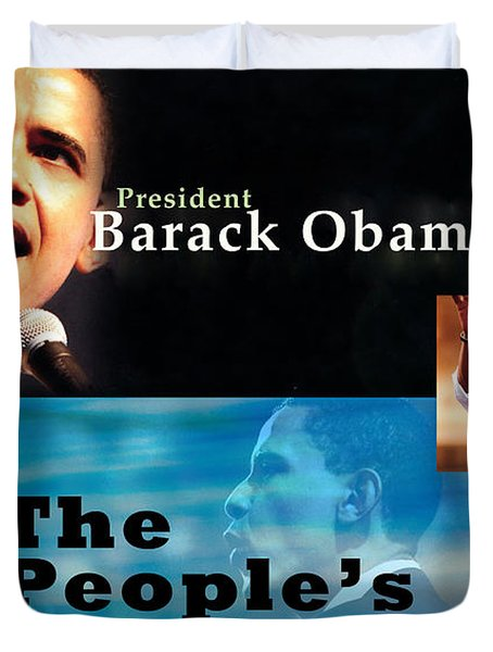 The People's President Duvet Cover