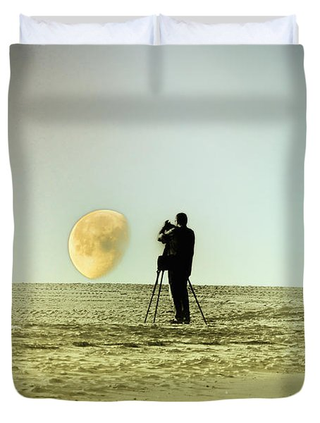 The Photographer Duvet Cover by Bill Cannon