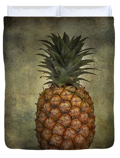 The Pineapple  Duvet Cover by Jerry Cordeiro
