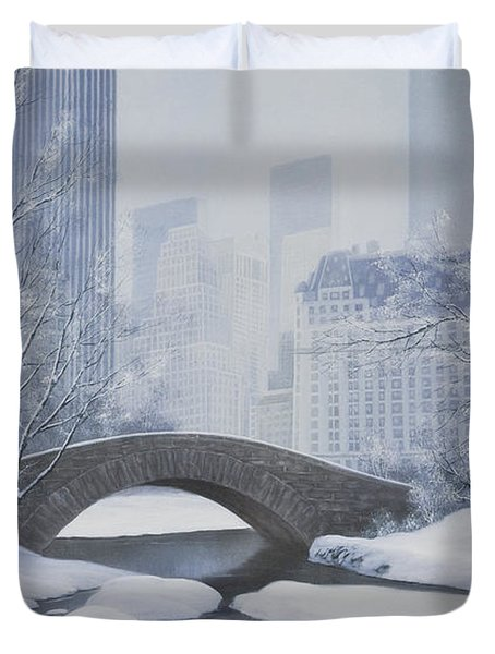 The Plaza Duvet Cover