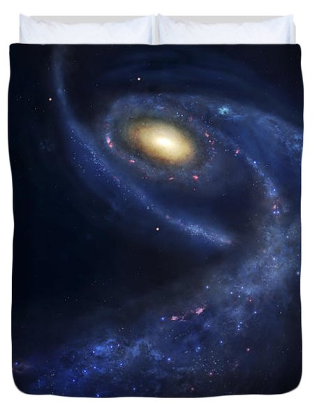 The Predicted Collision Duvet Cover