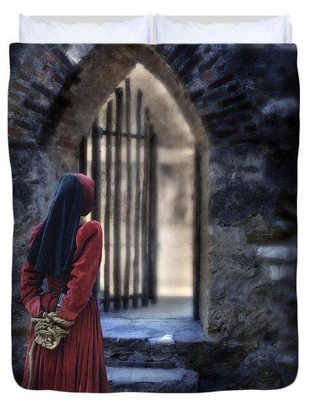 The Prisoner Duvet Cover by Jill Battaglia