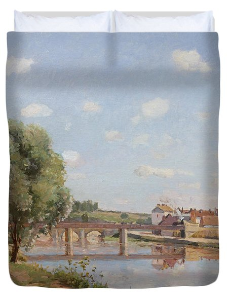 The Railway Bridge Duvet Cover