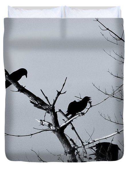 The Raven Tree Duvet Cover