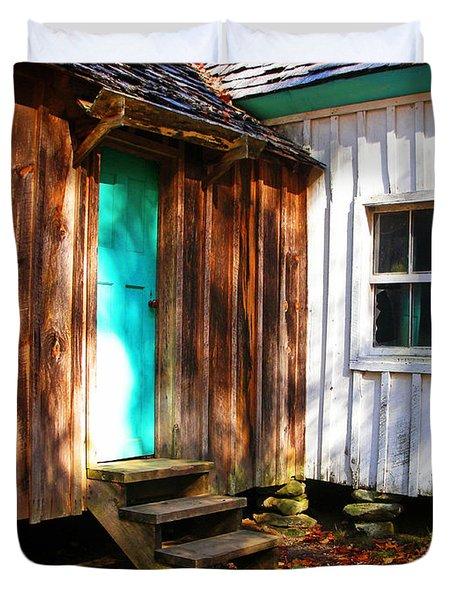 The Reagan House Kitchen Duvet Cover by Paul Mashburn