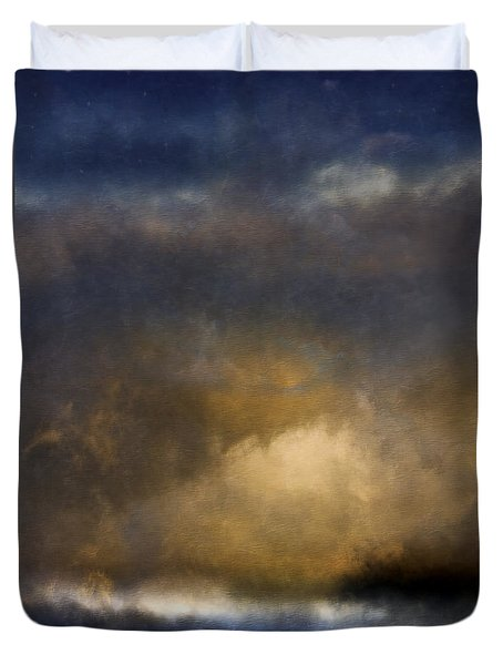 The Reef Duvet Cover by Ron Jones