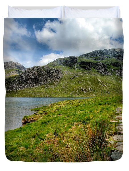 The Rocky Path Duvet Cover by Adrian Evans