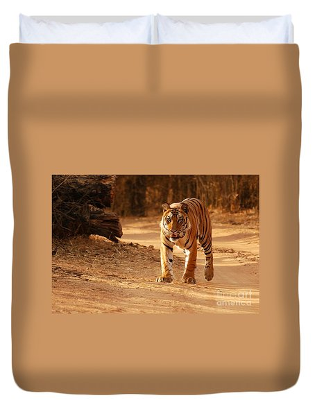 The Royal Bengal Tiger Duvet Cover