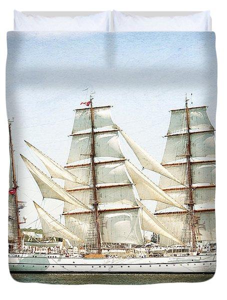The Sagres Duvet Cover by Verena Matthew