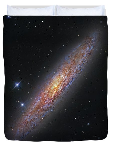 The Sculptor Galaxy, Ngc 253 Duvet Cover by Robert Gendler