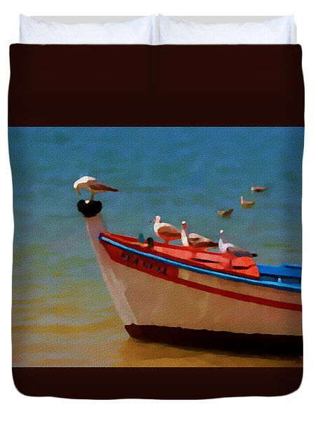 The Sea Gulls Duvet Cover