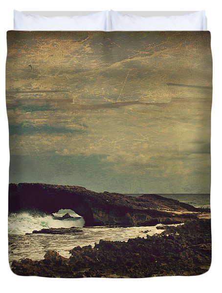 The Sea Duvet Cover by Laurie Search