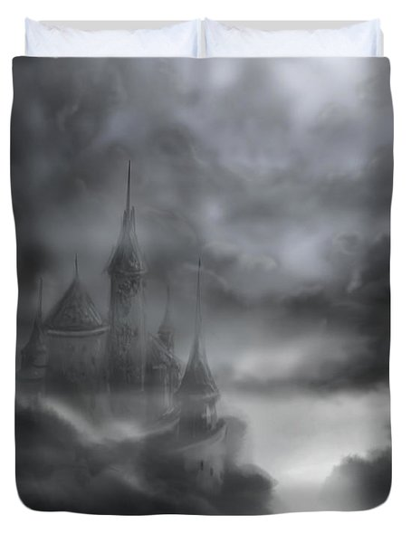 The Skull Castle Duvet Cover