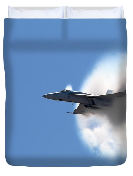 The Speed Of Wow Duvet Cover