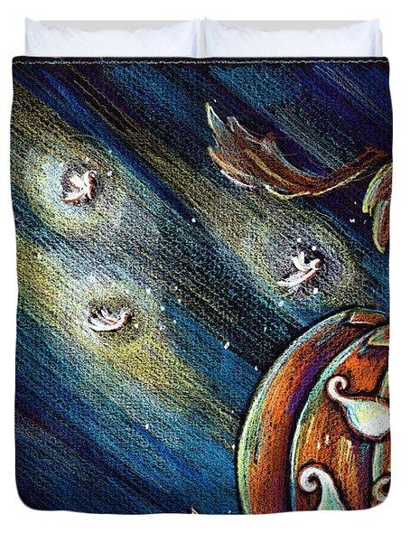 The Spirit Of Halloween Duvet Cover