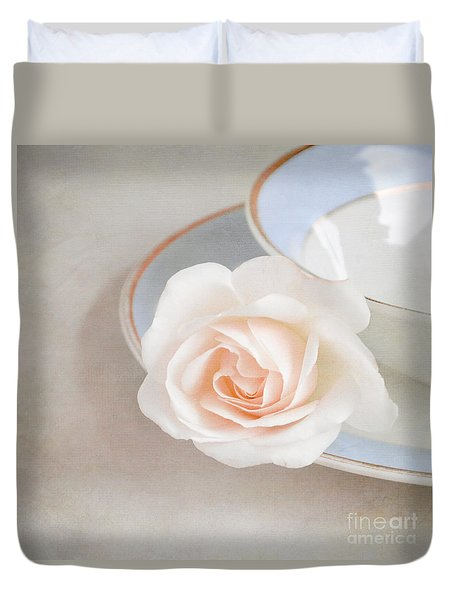 The Sweetest Rose Duvet Cover