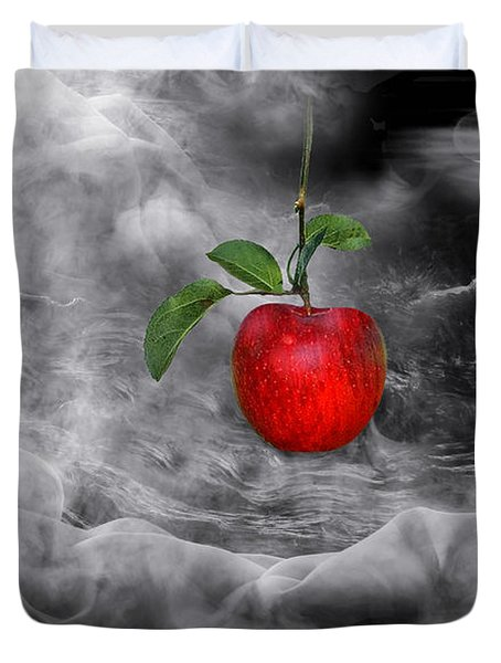 The Tamptation Duvet Cover by Manfred Lutzius