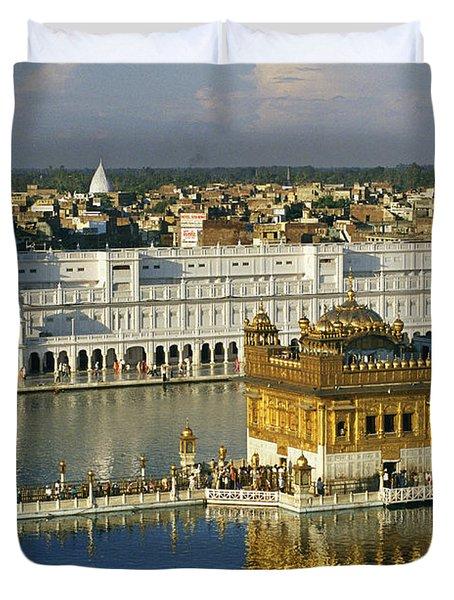 The Temple Complex Duvet Cover