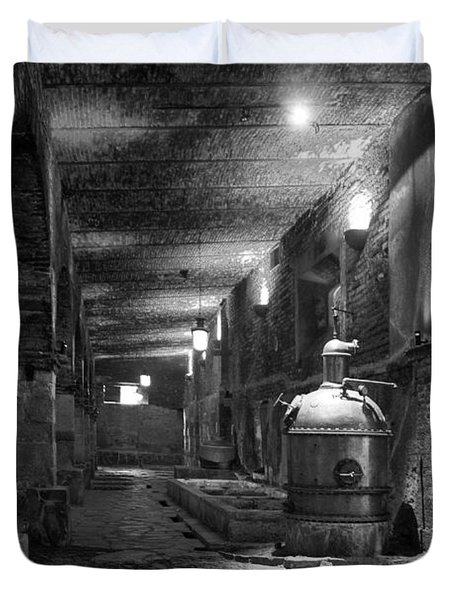 Duvet Cover featuring the photograph The Tequilera No. 2 by Lynn Palmer