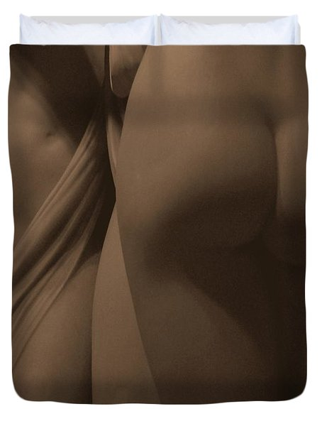 The Three Graces Voyeur II Duvet Cover
