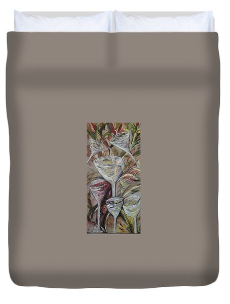 The Winetoast Duvet Cover