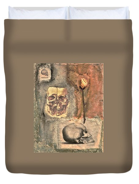 The Tomb Duvet Cover by Catherine Conroy