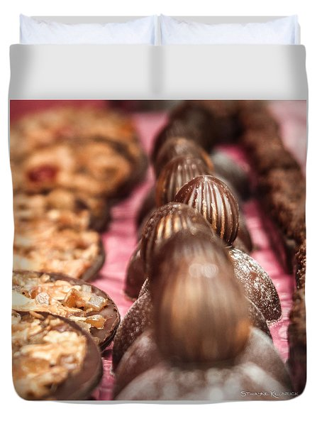 Duvet Cover featuring the photograph The Uncontrollable Greed by Stwayne Keubrick