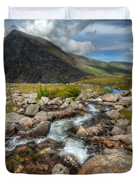 The Valley Duvet Cover by Adrian Evans