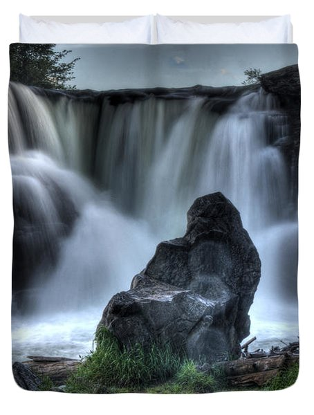 The Watchman Duvet Cover by Bob Christopher