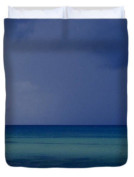 The Weather Is Changing Duvet Cover by Heiko Koehrer-Wagner