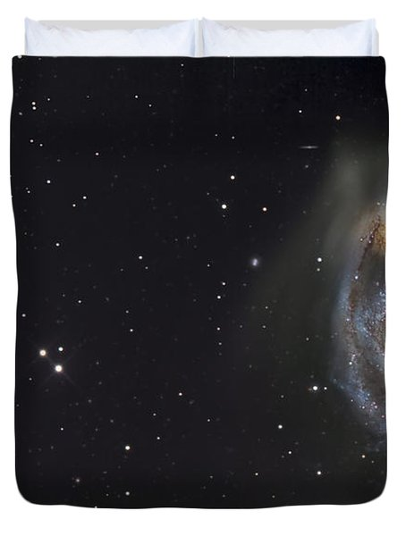 The Whirlpool Galaxy Duvet Cover by R Jay GaBany