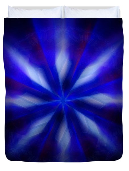 The Wizards Streams Duvet Cover by Danuta Bennett