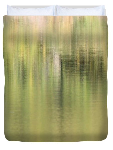 Duvet Cover featuring the photograph The Woods by Penny Meyers