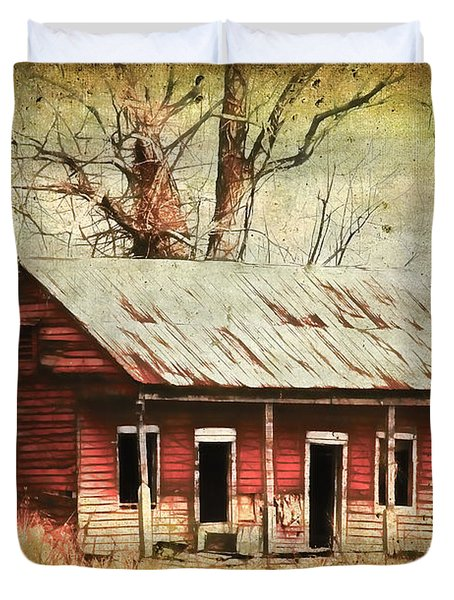 This Old House Duvet Cover by Judi Bagwell