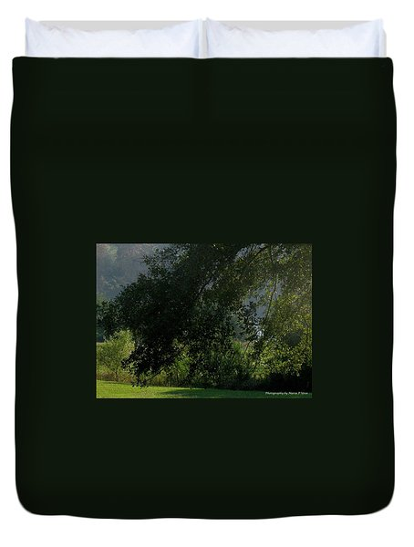 This Ole Tree Duvet Cover by Maria Urso