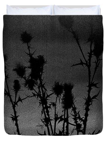 Thistles Duvet Cover by Hakon Soreide