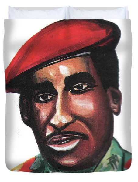 Thomas Sankara Duvet Cover