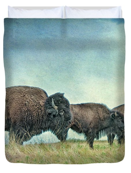 Three In A Row Duvet Cover by Tamyra Ayles