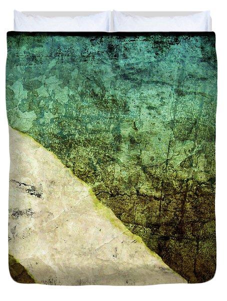 Three Moods Of Modern II Duvet Cover by Brett Pfister
