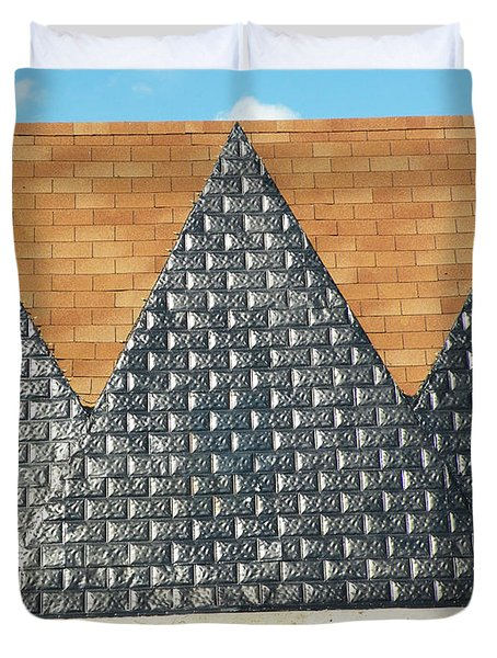 The Great Pyramids Duvet Cover