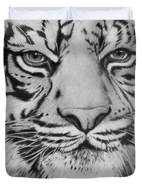 Tiger's Eyes Duvet Cover
