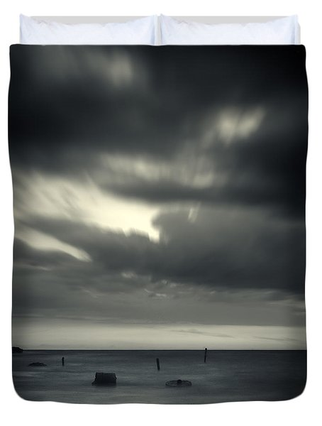 Time Duvet Cover by Stelios Kleanthous